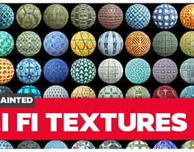 Scifi Textures Collection 3D asset