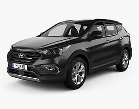 Hyundai Santa Fe DM KR-spec 2015 3D model