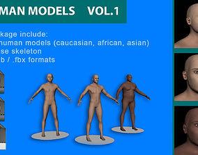 Human models VOL 1 3D
