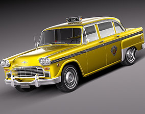 3D Checker Cab A8 Marathon 1956-1982