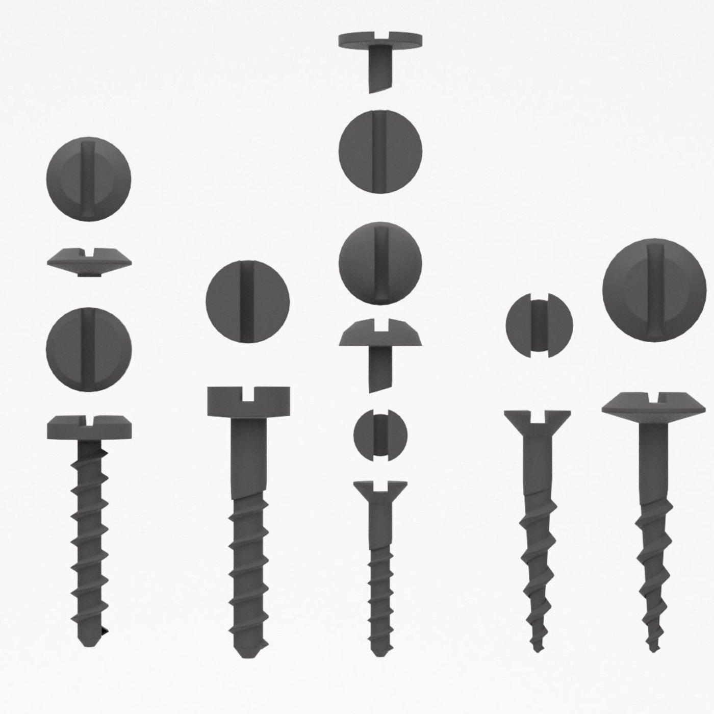Screws set bolt