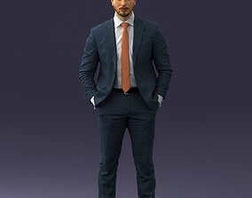 3D model Businessman 0205