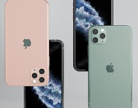 Apple iPhone 11 pro max 3D asset