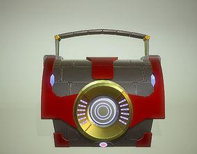 3D model Si-fi chest