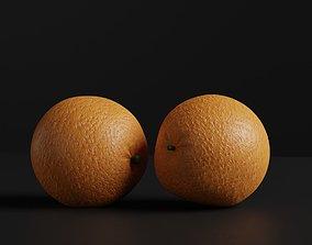 Orange 3d model geometry