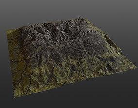 Mossy Hills PBR 3D