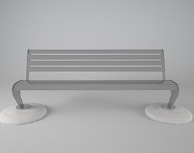 3D bench Abyssus model