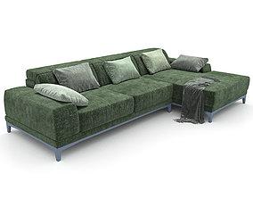 19 Sofa natuzzi borghese 2826 3 3D model