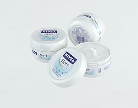 3D asset Nivea Cream
