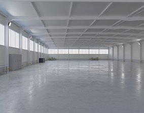 Warehouse Interior 5 3D asset