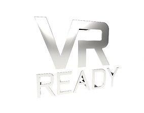 3D model VR Ready Symbol v1 006