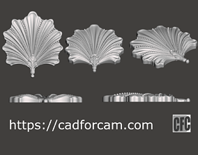 WoodCarving detail - 3d model for 2