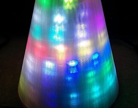 BlinkyTape Cone Defuser 3D printable model