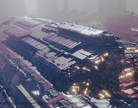 Heavy Space Carrier fi 3D