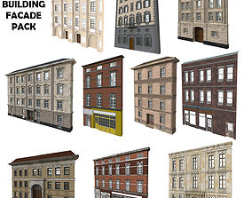Building Facade Pack 3D model