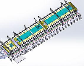 The glass feeder Assembly 3D model