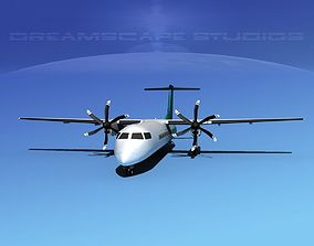 Dehaviland DHC-8 400 Corporate 4 3D model