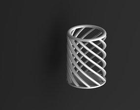 gadgets Spiral Pencil Case 3D printable model