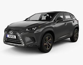 Lexus NX hybrid 2017 3D