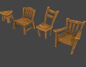 Cartoon Furniture Pack 3D model