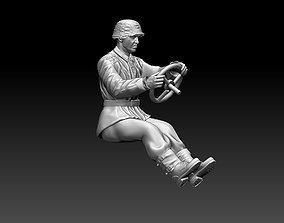 german driver soldier 3D print model world