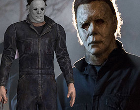 Halloweens Michael Myers AKA The Shape 3d Model and