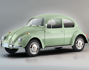 3D model rim Volkswagen Beetle