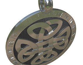 Amulet - Celtic Knot 3D print model