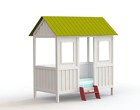 Little house baby 3D
