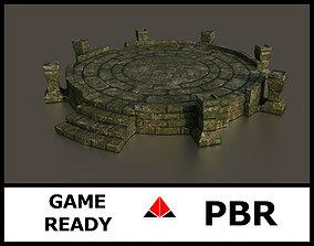 3D asset Ancient altar