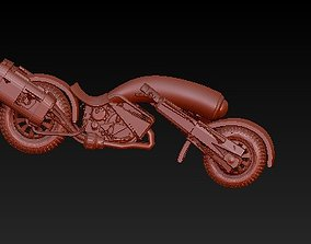 miniatures 3D printable model Motorcycle
