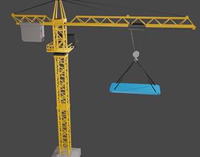 3D print model Crane Construction