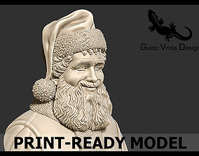 Printable Santa Claus Bust clause