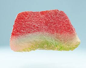 Watermelon Part 3D asset