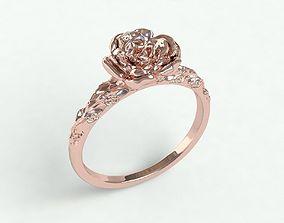 leaf Ringmodel123 - Rose Ring