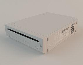 3D model Nintendo Wii