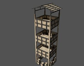 3D model Forest Watchtower