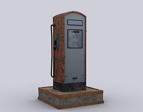 3D asset Gas station