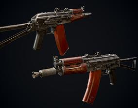 AKS74U 3D asset