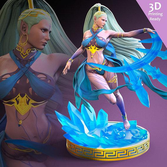 Shiva 3D printing ready fanart