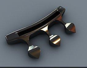 brass knuckles 3D printable model