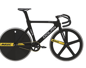 Dolan DF4 Carbon Track Bike 3D