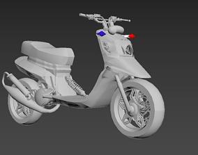 spitro RX police cop scooter 3D print model