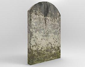 Tombstone 2 3D asset