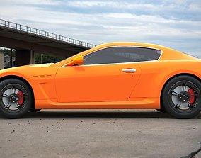 3D model Maserati Gran Turismo coupe