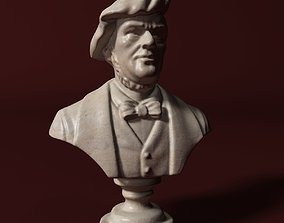 3D Wagner Bust