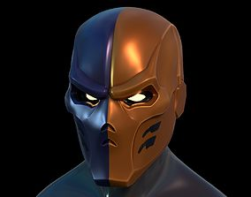 Deathstroke Helmet superhero 3D printable model