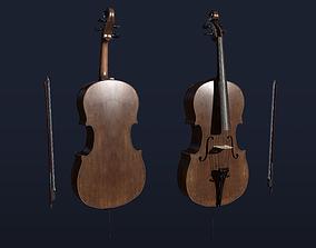 Classic Cello 3D model
