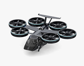 3D model Flying Taxi Bell Nexus