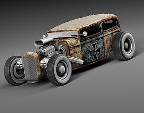 1929 Tudor RatRod 3D